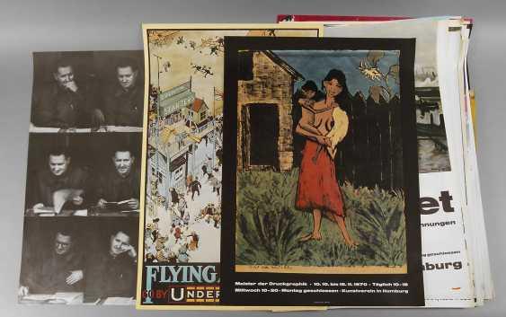 Large Vintage Art Posters - photo 1