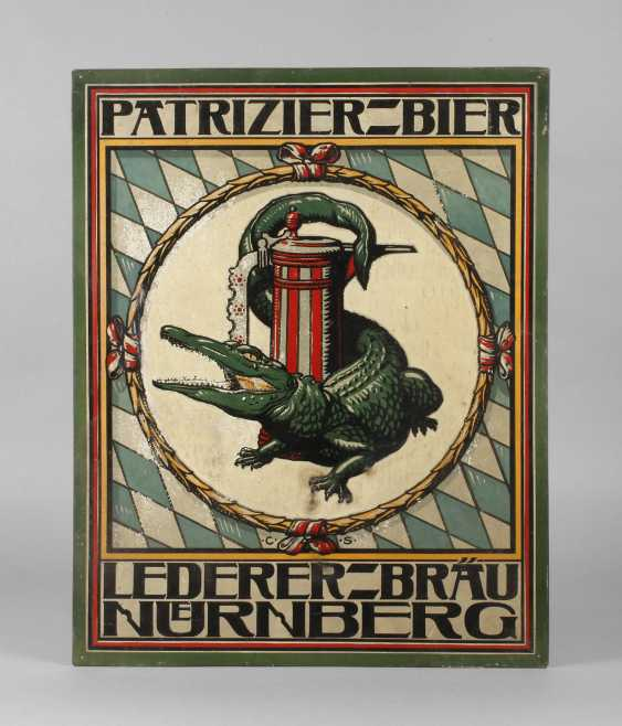 Sign Lederer-Bräu Advertising - photo 1