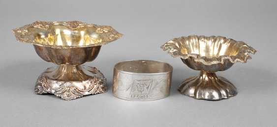 Russia two Salieren and napkin ring - photo 1