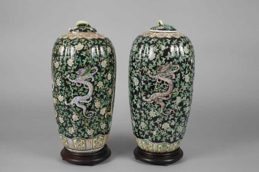 Pair Of Cover Vases - photo 3