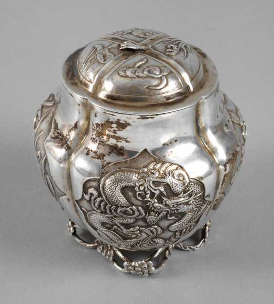 Lid Tin Silver - photo 1