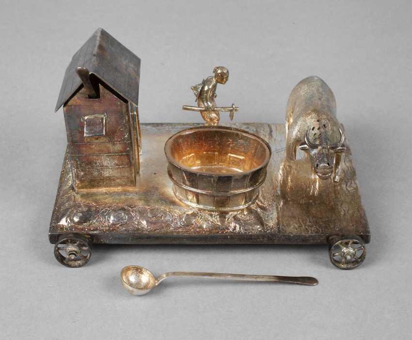 Figural Cruet Silver - photo 1