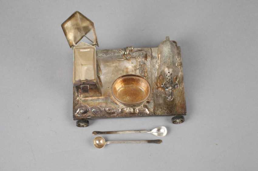Figural Cruet Silver - photo 2