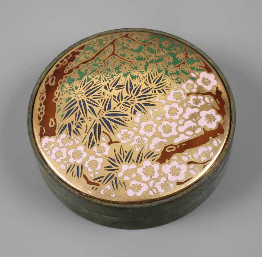 Lidded Box Japan - photo 1