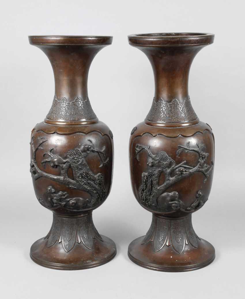 Pair Of Floor Vases - photo 1
