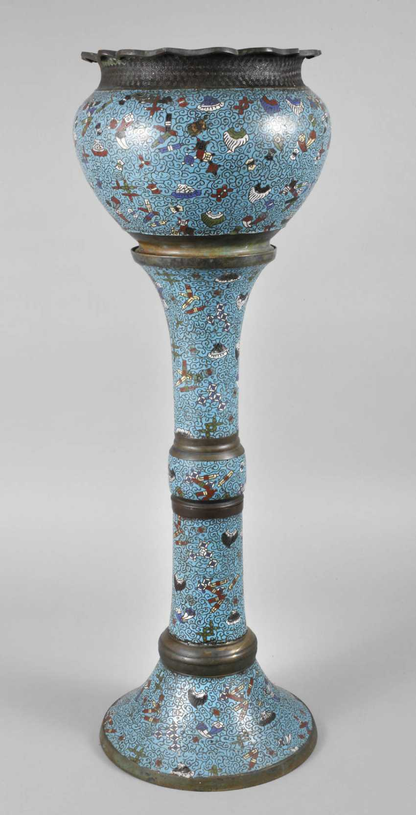 Cachepot Cloisonne - photo 1