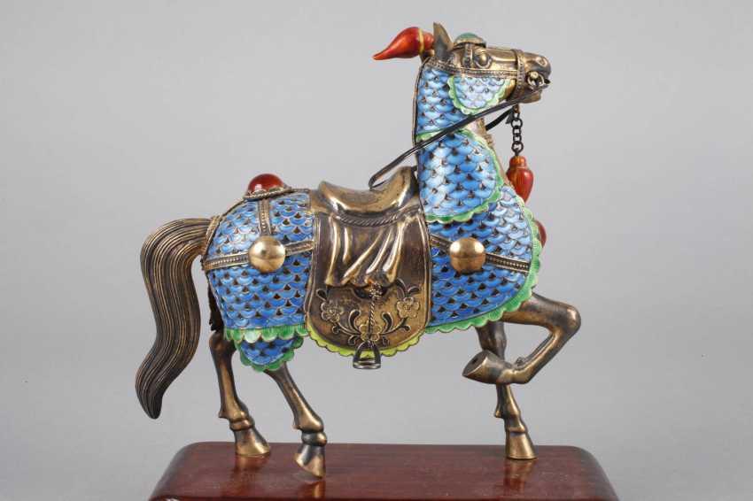 Horse Plastic Silver - photo 3