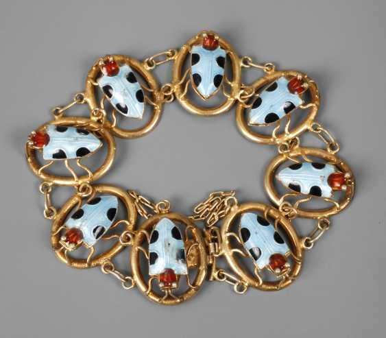 Bracelet with enamel - photo 1