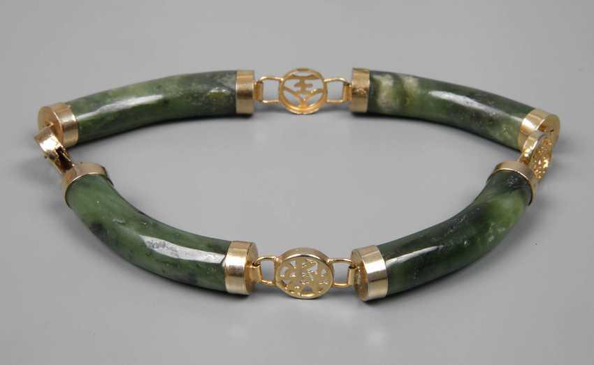 Bracelet with Jade - photo 1