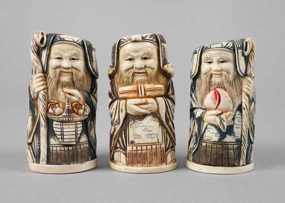 Three Ivory Carvings - photo 1