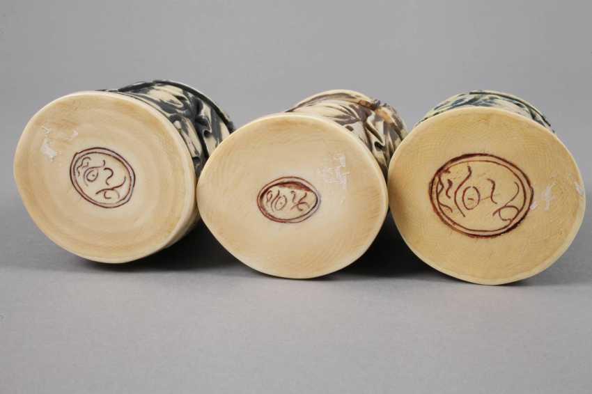 Three Ivory Carvings - photo 2