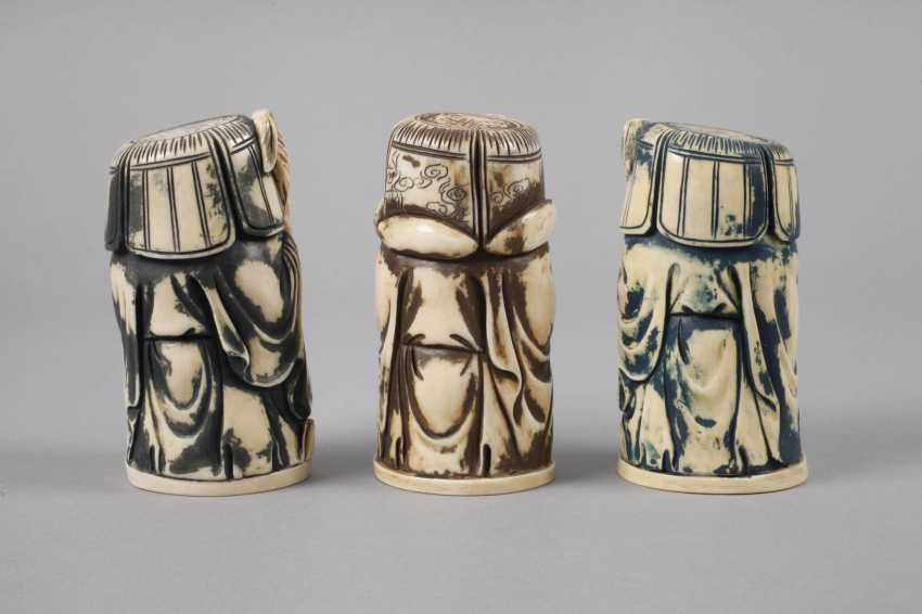 Three Ivory Carvings - photo 3