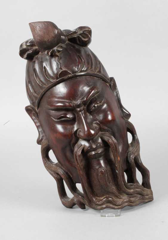 Carved Wall Mask - photo 1