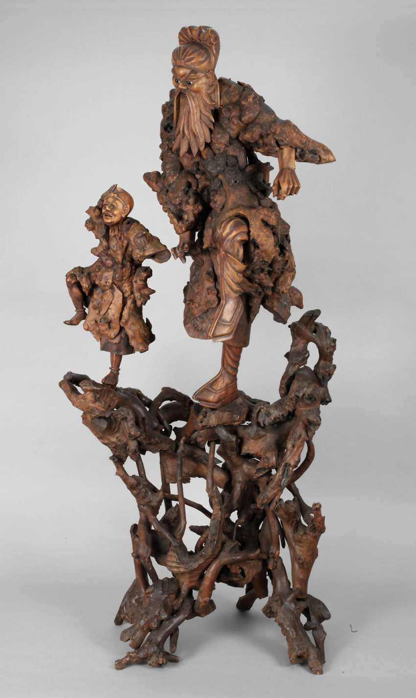 Great Carving, Root Wood - photo 1