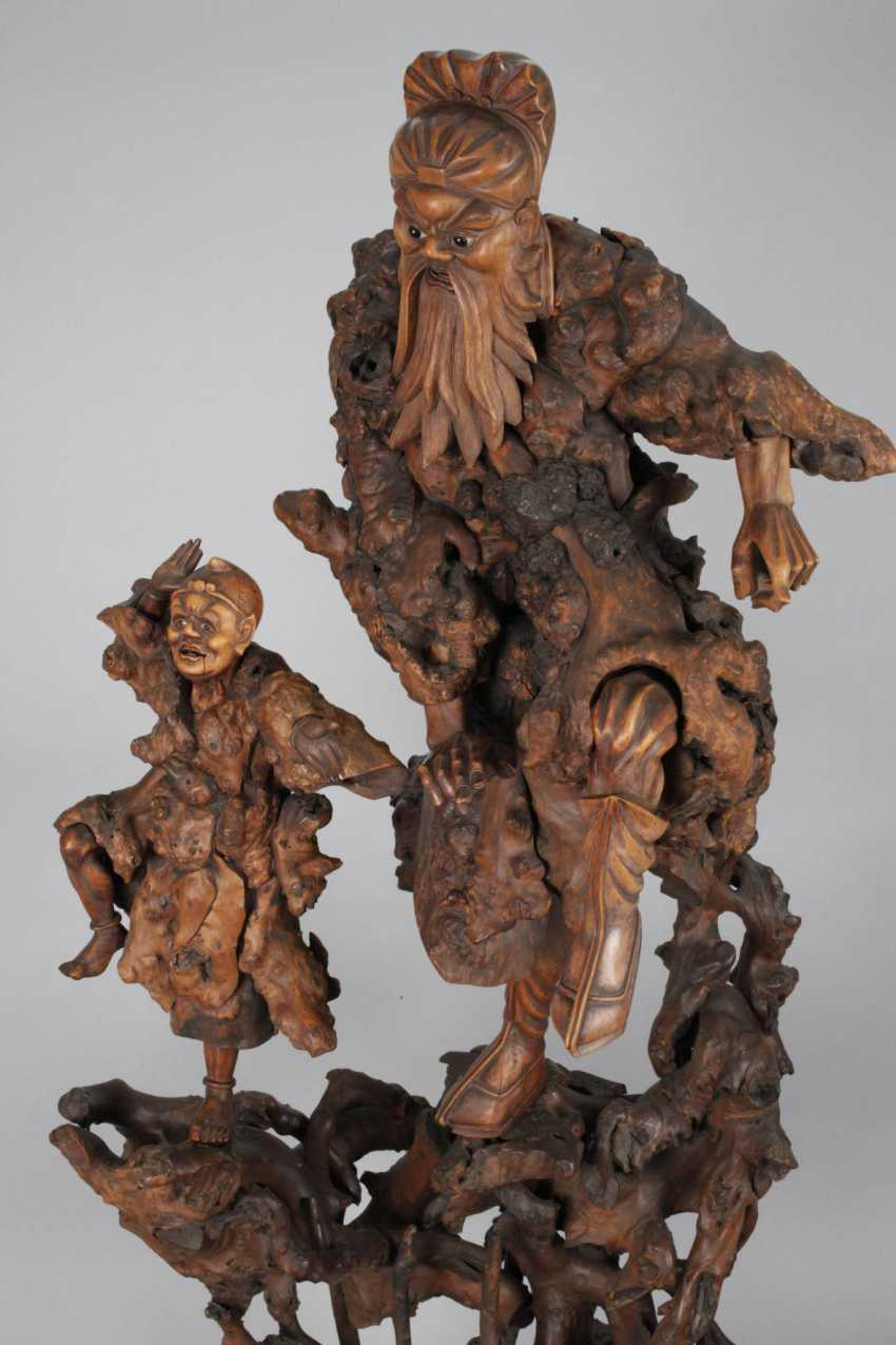 Great Carving, Root Wood - photo 2