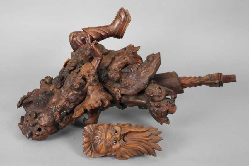 Great Carving, Root Wood - photo 4