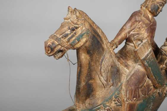 Horse with rider in Tang-style - photo 5