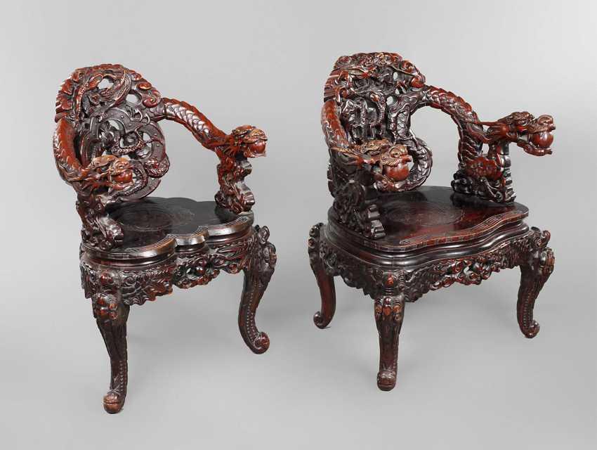 Pair Of Armchairs, China - photo 1