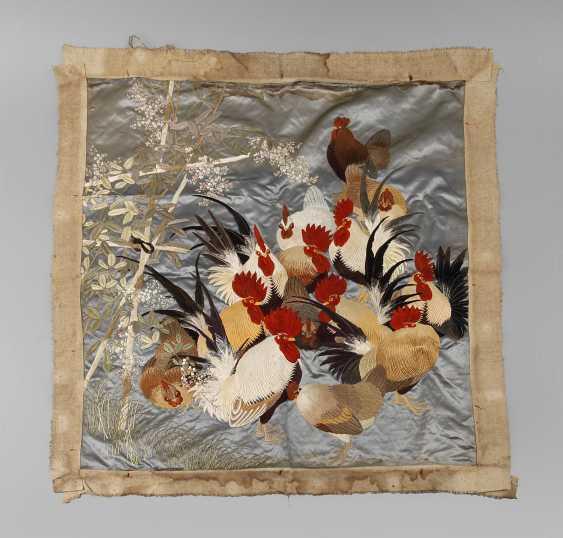 Silk embroidery - photo 1