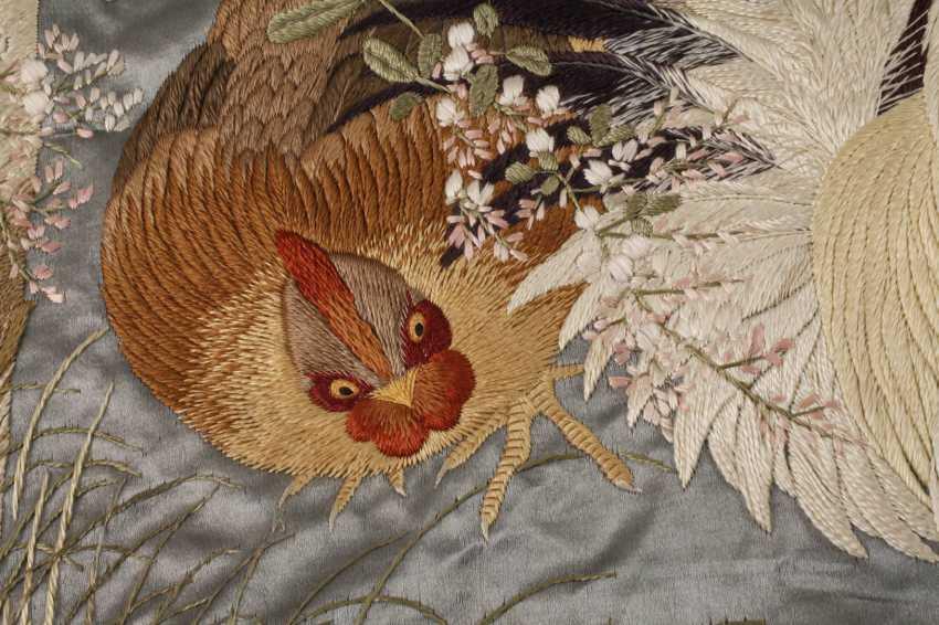 Silk embroidery - photo 3