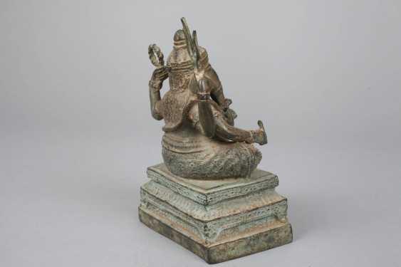 Bronze Sculpture Of Ganesha - photo 4