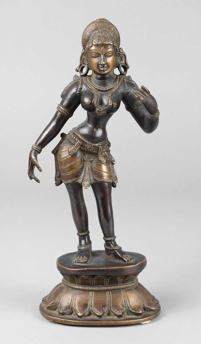 Bronze Sculpture Of Parvati - photo 1