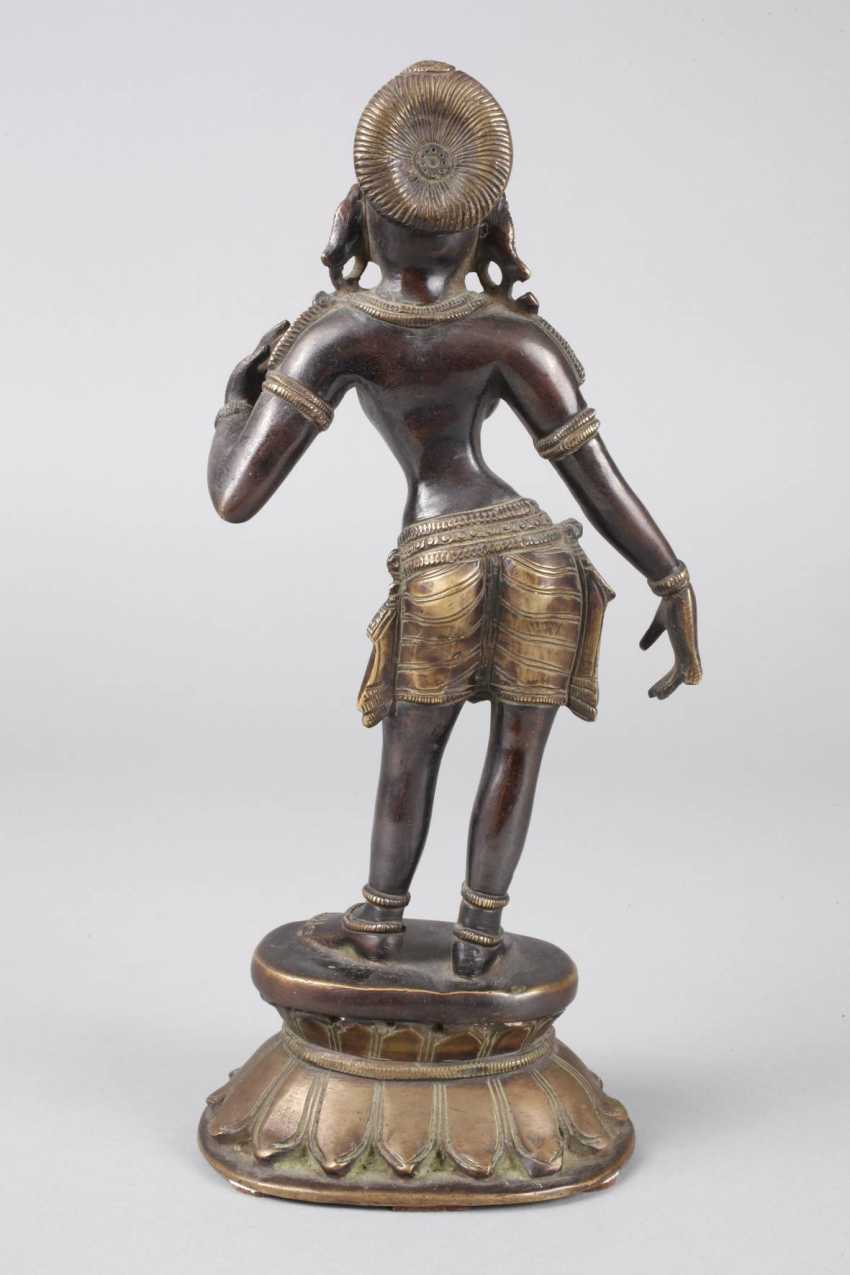 Bronze Sculpture Of Parvati - photo 3