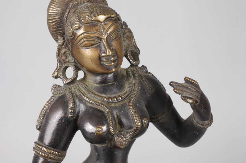 Bronze Sculpture Of Parvati - photo 7