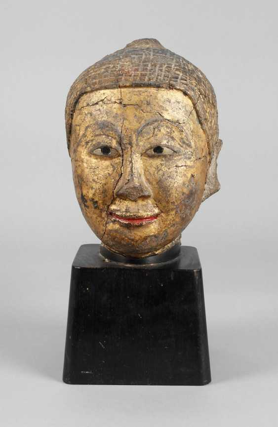 Buddha head - photo 1