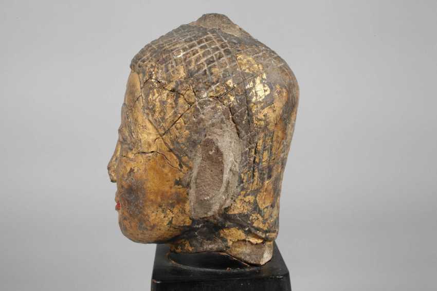 Buddha head - photo 2