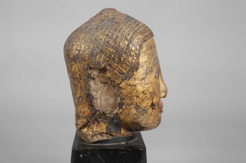 Buddha head - photo 4
