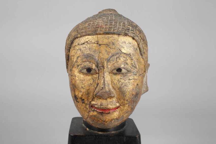 Buddha head - photo 5