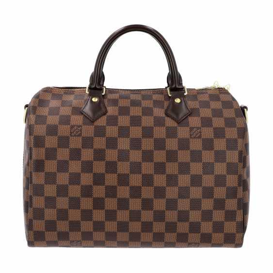 """LOUIS VUITTON handbag """"SPEEDY 30 STRAP."""", Collection of 2017. - photo 1"""