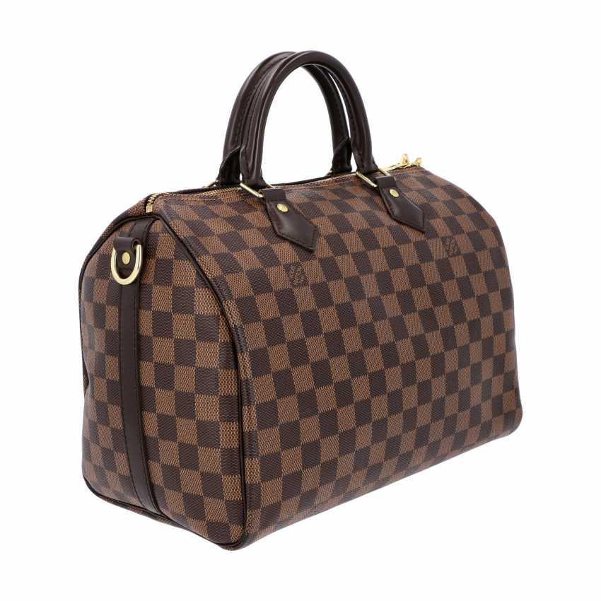 """LOUIS VUITTON handbag """"SPEEDY 30 STRAP."""", Collection of 2017. - photo 2"""