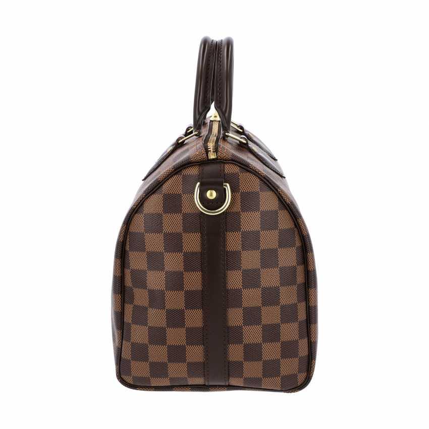 """LOUIS VUITTON handbag """"SPEEDY 30 STRAP."""", Collection of 2017. - photo 3"""