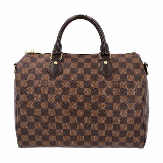"""LOUIS VUITTON handbag """"SPEEDY 30 STRAP."""", Collection of 2017. - photo 4"""