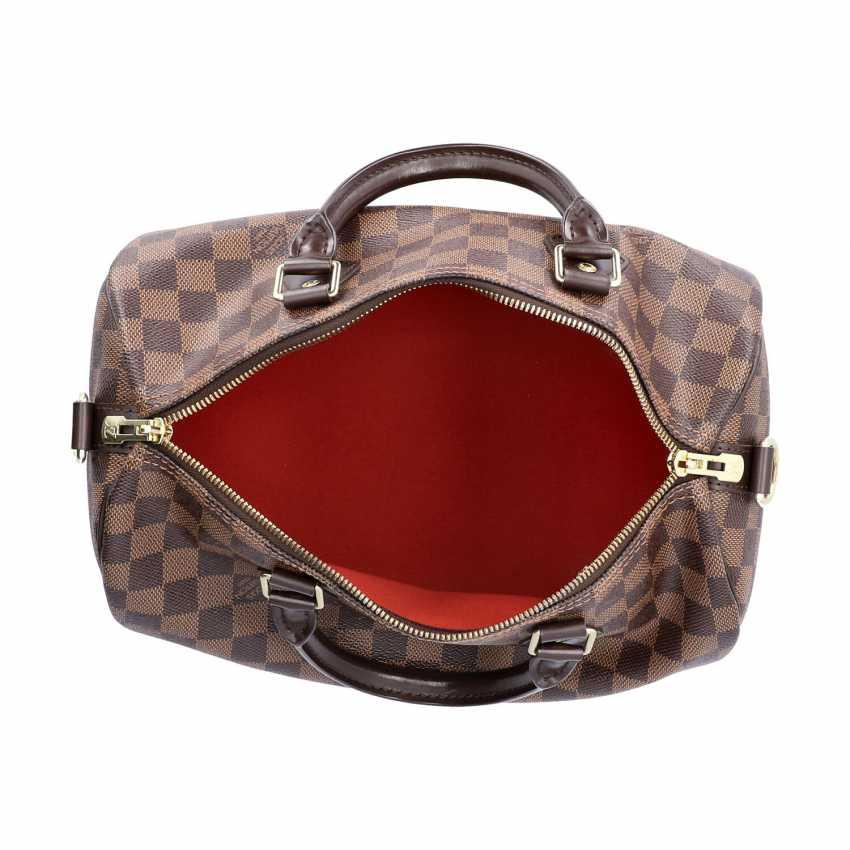 """LOUIS VUITTON handbag """"SPEEDY 30 STRAP."""", Collection of 2017. - photo 6"""