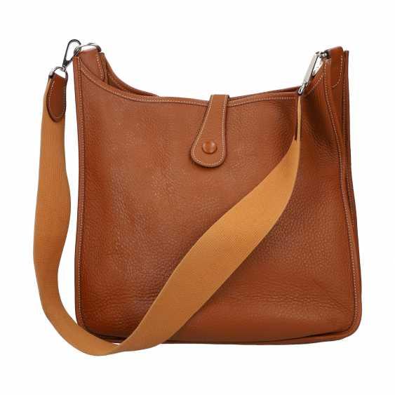 """HERMÈS shoulder bag """"EVELYN"""", collection 2005. - photo 4"""