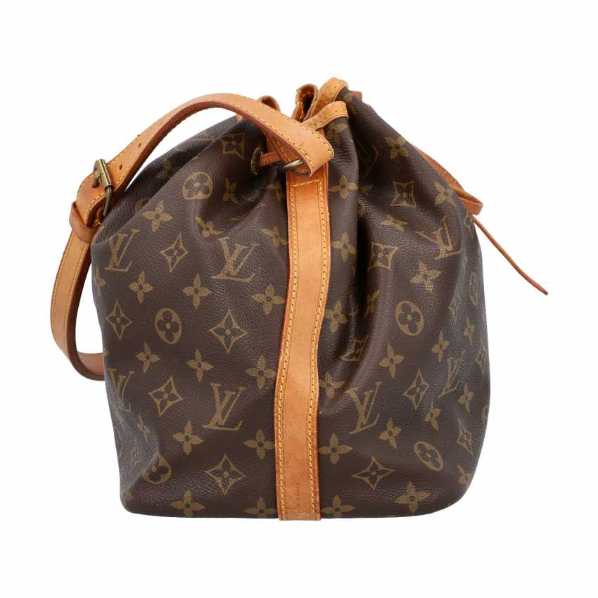 """LOUIS VUITTON VINTAGE bag """"NOÉ"""", in the collection in 1992. - photo 3"""