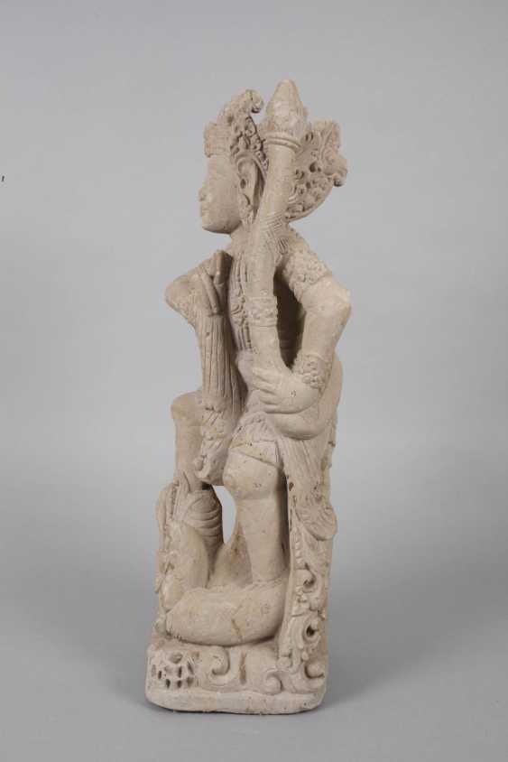Sand stone statue - photo 2