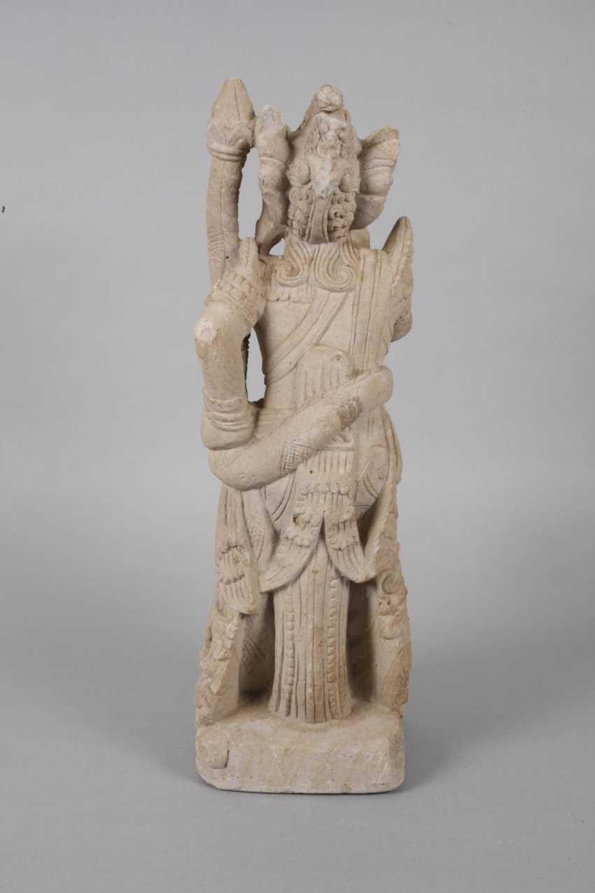 Sand stone statue - photo 3