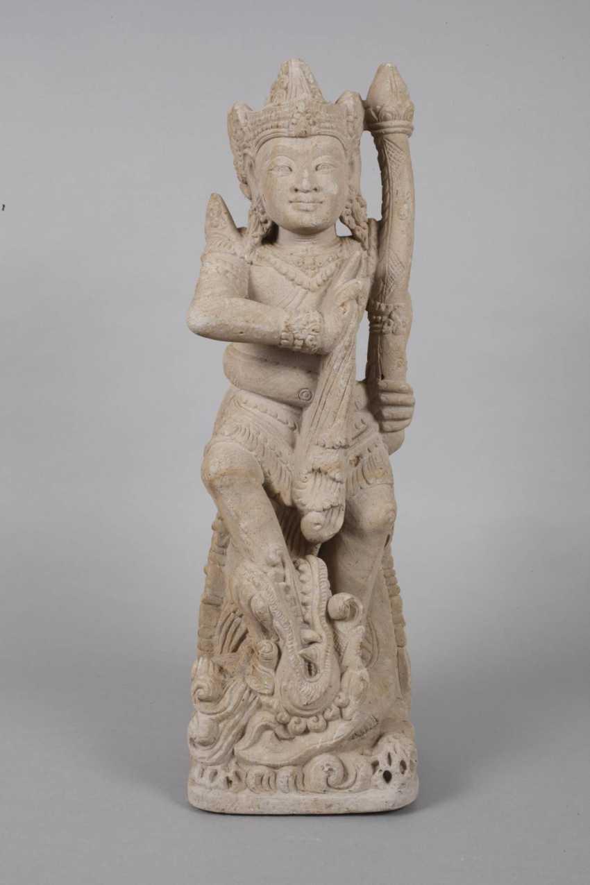 Sand stone statue - photo 5