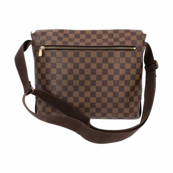 """LOUIS VUITTON Messenger Bag, """"BROOKLYN MM"""", Kollektion 2010. - photo 4"""
