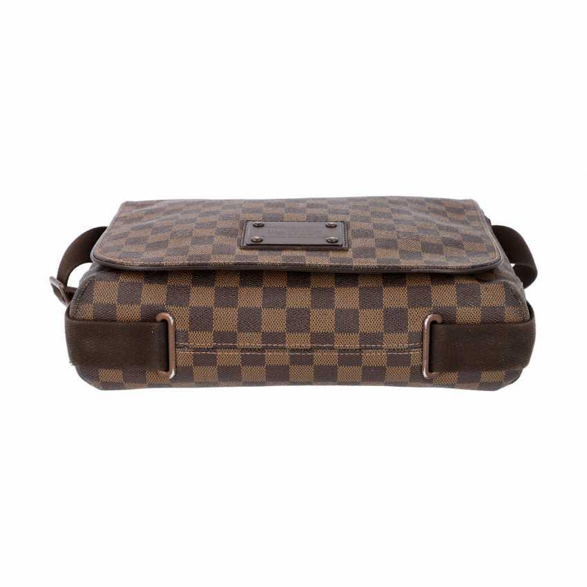 """LOUIS VUITTON Messenger Bag, """"BROOKLYN MM"""", Kollektion 2010. - photo 5"""