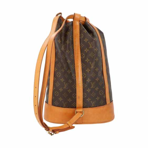 "LOUIS VUITTON VINTAGE bag ""RANDONNEE GM"", in the collection in 1990. - photo 4"