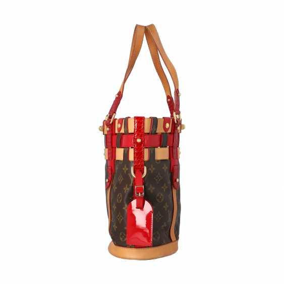 """LOUIS VUITTON bag bag """"NEO BUCKET"""", collection 2007. - photo 3"""