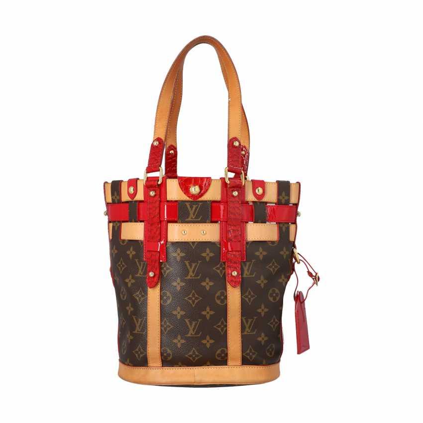"""LOUIS VUITTON bag bag """"NEO BUCKET"""", collection 2007. - photo 4"""
