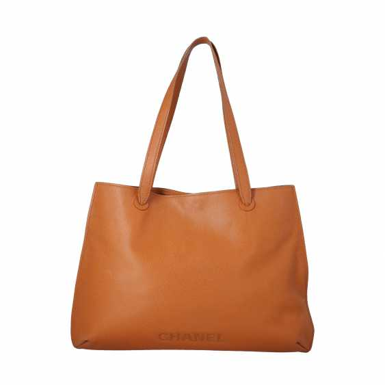 CHANEL VINTAGE shopper tote bag, collection 1997-99. - photo 1