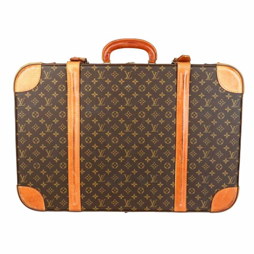 "LOUIS VUITTON VINTAGE travel suitcase ""STRATOS 70"", 70/80s. - photo 5"