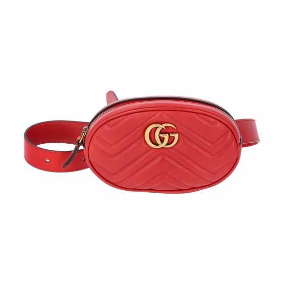 "GUCCI belt bag ""GG MARMONT"". Belt length 75cm. - photo 1"